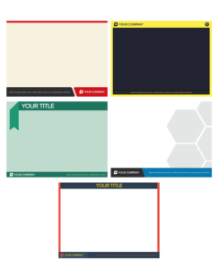 模組#26 平面風格的PowerPoint背景