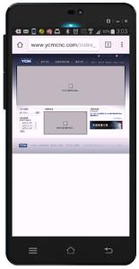 傳統網站1-手機顯示(點圖可預覽)